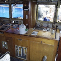 Wheelhouse before renovation