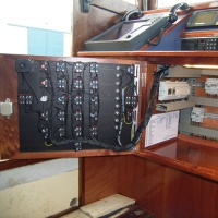Main control panel after renovation.