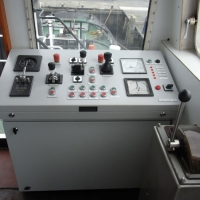 Controls for deck work in wheelhouse