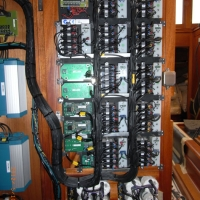 Cables behind the main 24v board.
